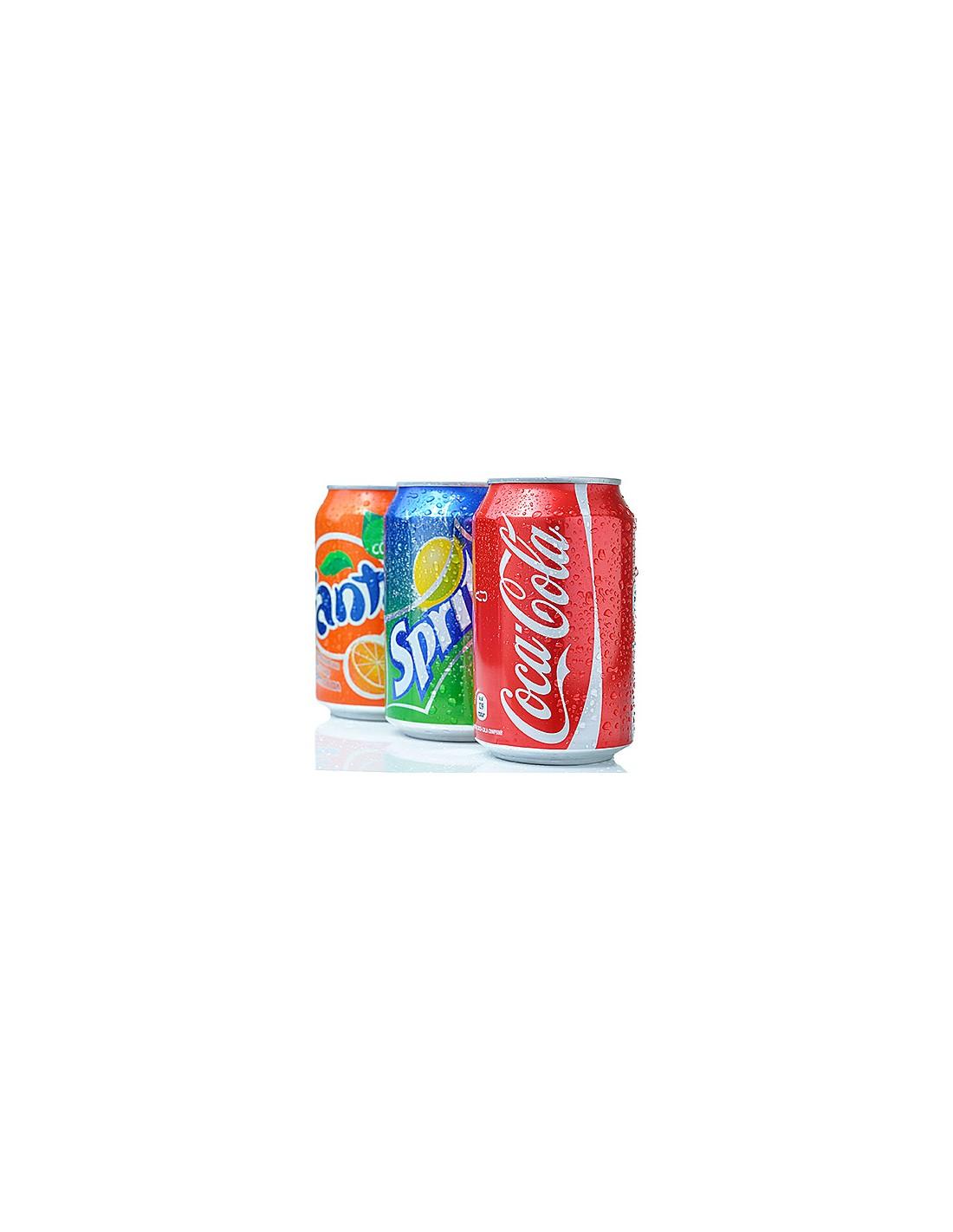 Coke/Fanta/Sprite Can